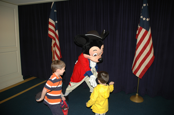 The Boys with General Mickey